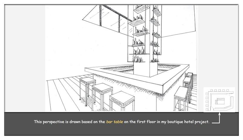 手绘图是室内设计师与业主沟通时最快速的