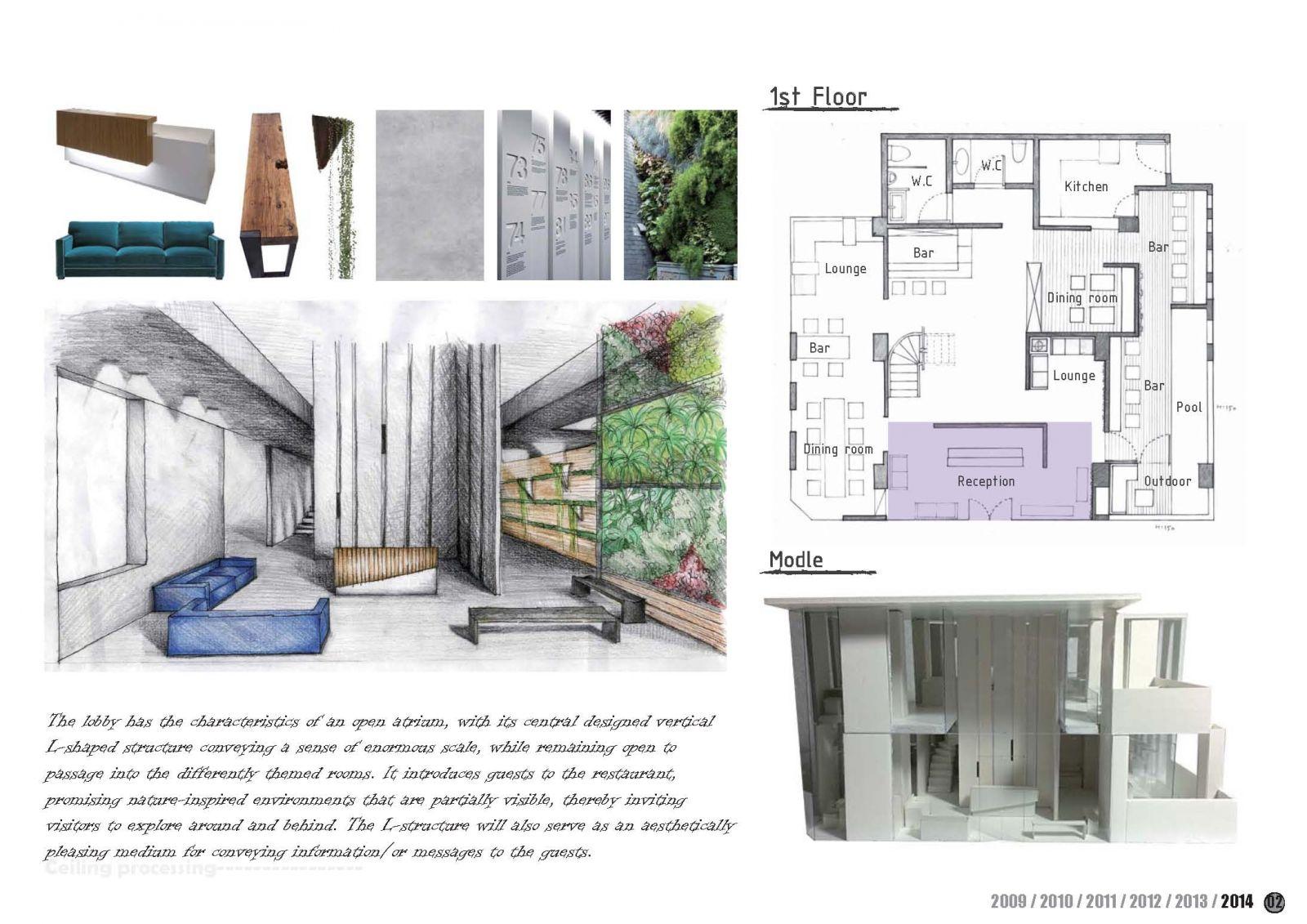 手绘图是室内设计师与业主沟通时最快速的桥梁